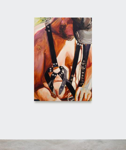 Sara-Vide Ericson, 'The Last Vigilante', 2018, Painting, Oil on aluminum, V1 Gallery