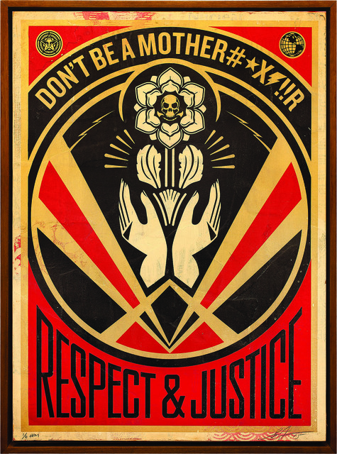 Shepard Fairey (OBEY), 'Don´t Be a MFR', 2015, Underdogs Gallery