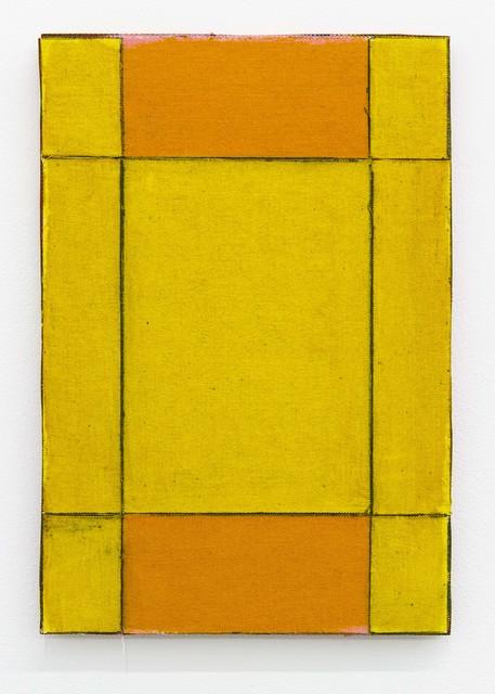 Ria Bosman, 'EINDER', 2020, Painting, Acrylic on textile, Tatjana Pieters