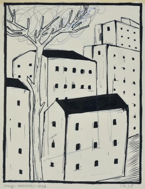 Luigi Veronesi, 'Case', 1926, Itineris