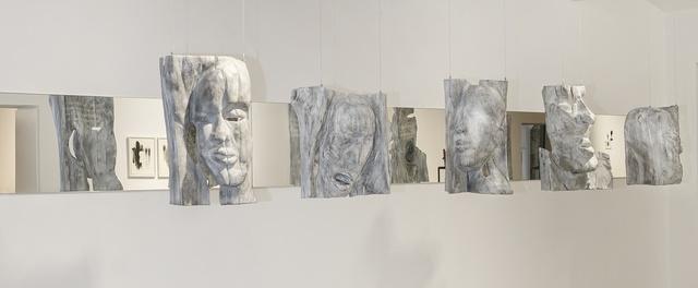 , 'Fünf Masken für die Nacht,' 2005, Galerie Kornfeld