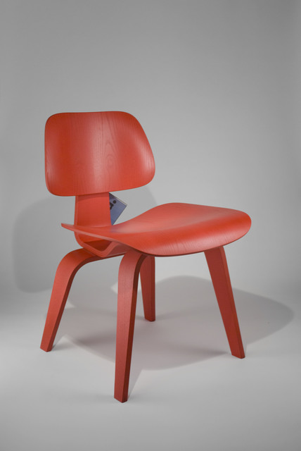 Charles and Ray Eames, 'Plywood Chair DCW', 2002, Design/Decorative Art, Red stained ash, The Modern Archive