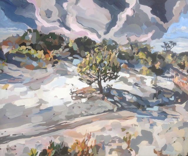 , 'Ascension of a lone tree,' 2015, Chalk Horse