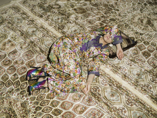, 'M Napping on Carpet,' 2016, The Third Line