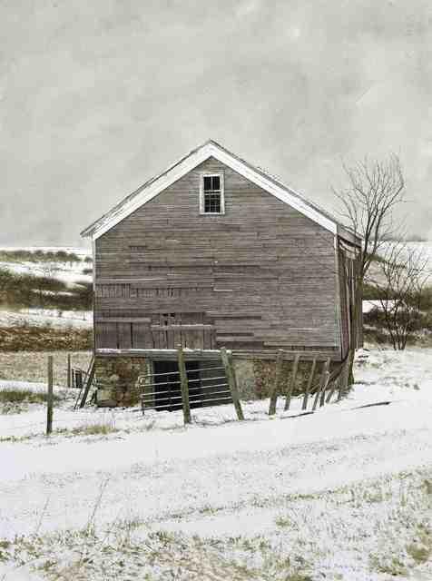 , 'Hamilton Barn,' 2013, Quidley & Company