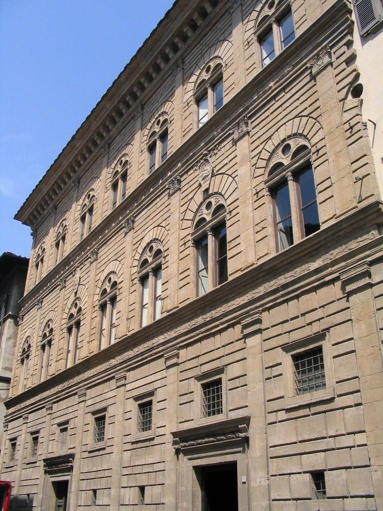 Leon battista alberti palazzo rucellai 1455 1458 artsy - I giardini di palazzo rucellai ...