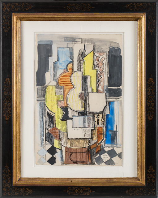 , 'Interieur cubiste à la guitare,' 1927, Rosenberg & Co.
