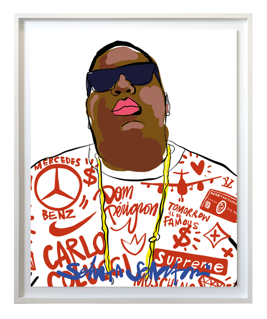 , 'Tomorrow I'll be famous - Biggie,' 2017, Amstel Gallery