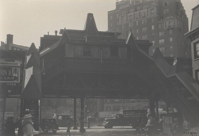 , '3r Avenue EL,' 1936, Lee Gallery