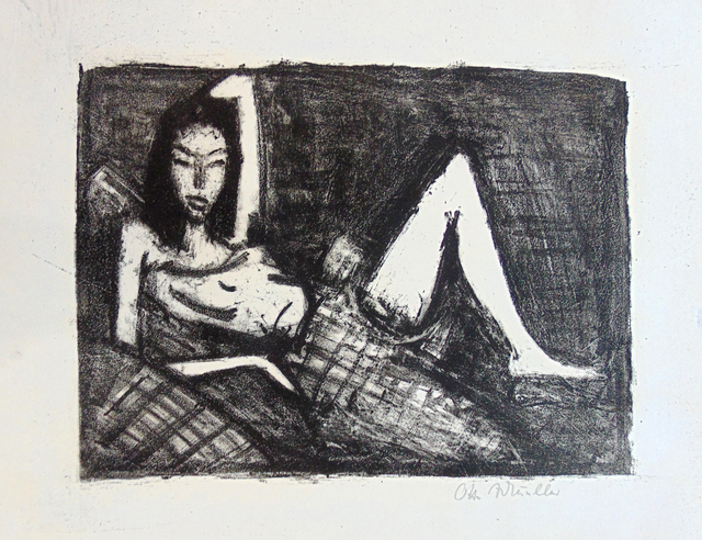, 'Girl on the Sofa | Mädchen auf dem Kanapee,' 1921, Gilden's Art Gallery