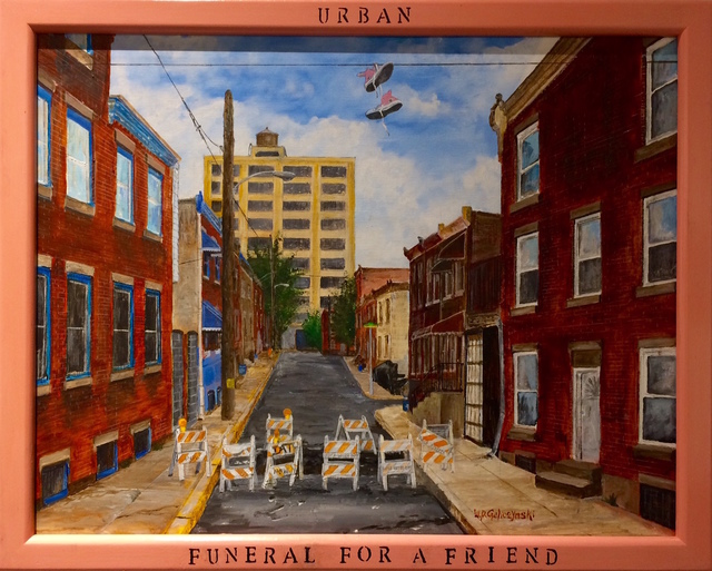 , 'Urban Funeral For A Friend,' , InLiquid