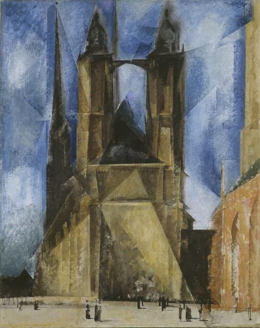 Lyonel Feininger, 'The Market Church at Halle', 1930, ARS/Art Resource
