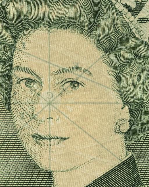 Lottie Davies, 'Great Britain, Elizabeth II', 2014, Cynthia Corbett Gallery