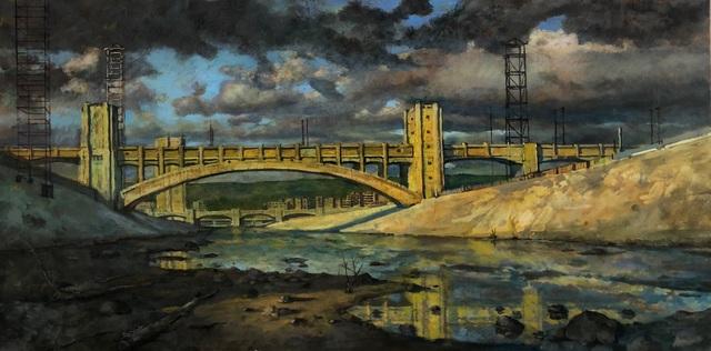 , 'LA River,' 2018, George Billis Gallery