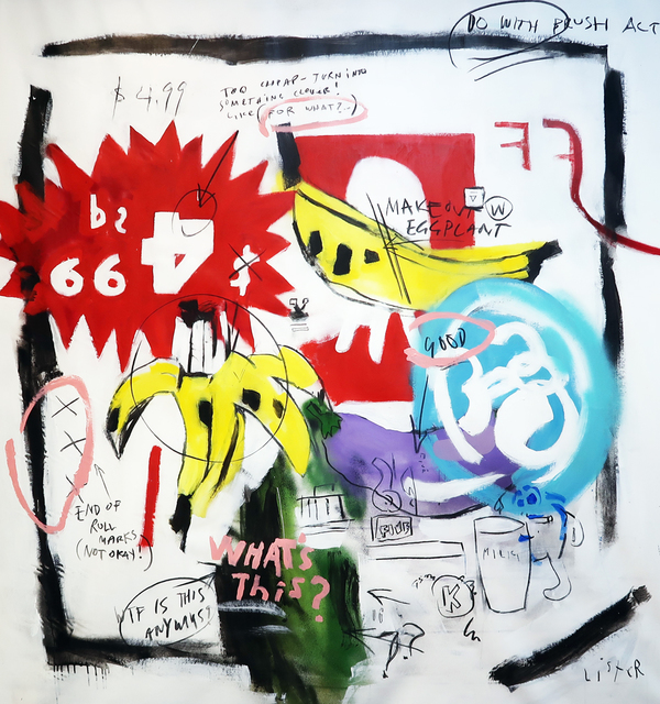 , 'BANANAS 1984 / Homage to Andy Warhol and Jean Michel Basquiat,' 2019, Mirus Gallery