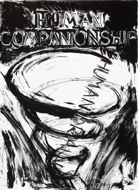 , 'Human Companionship, Human Drain,' 1981, Sims Reed Gallery