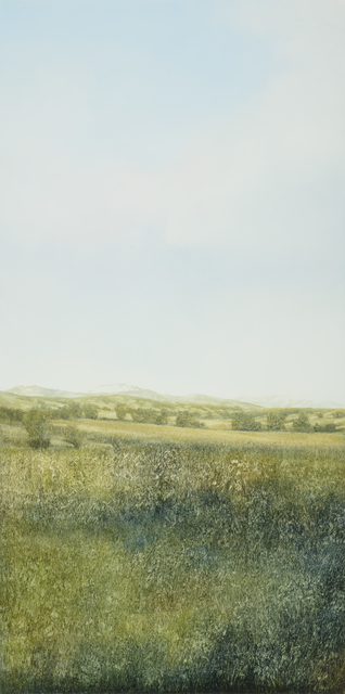Peter Brooke, 'Augusta Steppe', 2018, Painting, Oil on panel, Gallery NAGA
