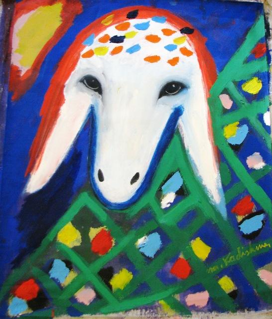 , 'Sheep Portrait with Flowers,' , Galerie AM PARK