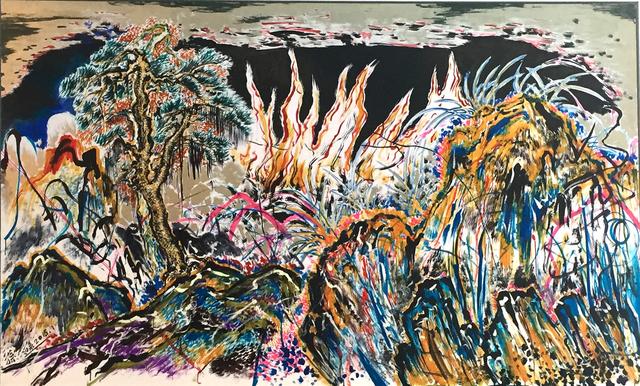 , 'Endopsychic Fire,' 2015, ShanghART