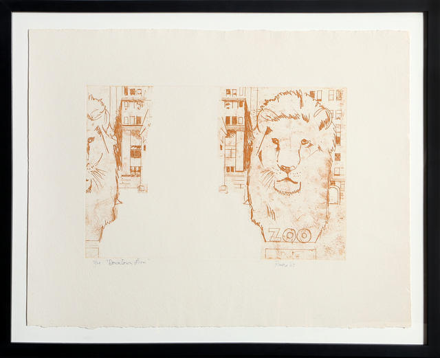 Larry Rivers, 'Downtown Lion', 1967, RoGallery