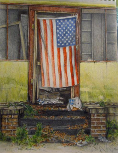, 'Flag ,' 2015, LeMieux Galleries