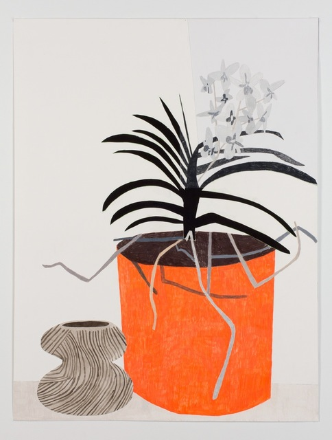 , 'Untitled (B/W Orchid),' 2011, Patrick De Brock Gallery