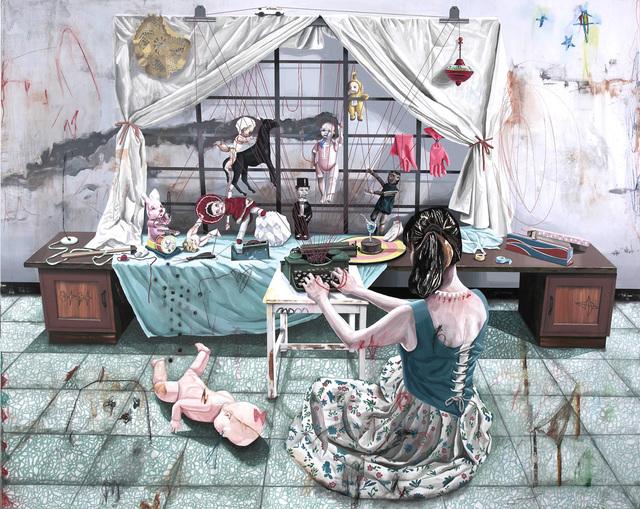 Shih Yung Chun, 'Taipei x Hong Kong x Japan x Hualien A / Type Writer - Puppet Theatre', 2014, Art Experience Gallery