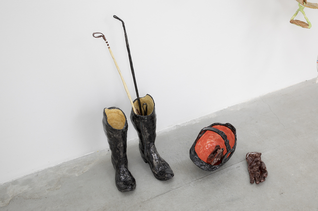 Rose Eken, 'Riding Boots With Helmet, Gloves And Wip', 2017, V1 Gallery
