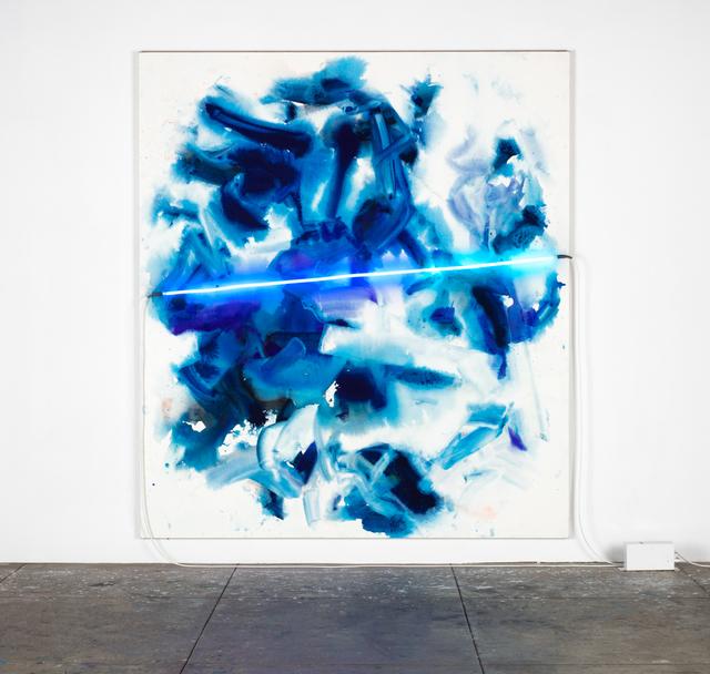 , 'double wave at Windansea,' 2015, David Kordansky Gallery