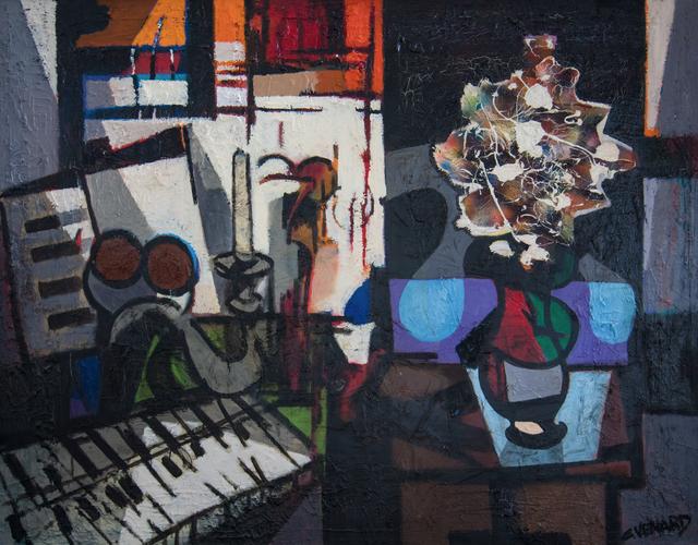 Claude Venard, 'Composition en Ré', ca. 1965, WOLFS