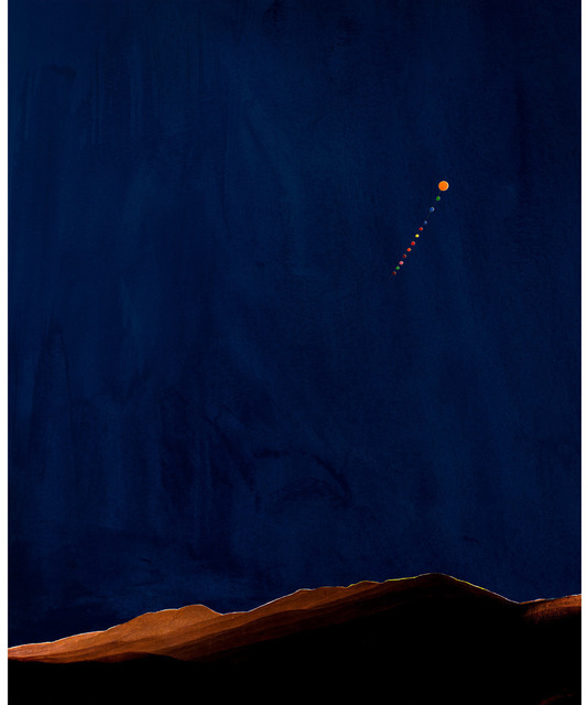, 'Nacht im Riesengebirge (Night in the Riesengebirge),' 2011, Gagosian