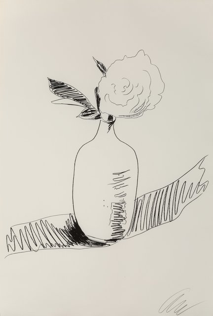 Andy Warhol, 'Untitled, from Flowers (Black and White)', 1974, Heritage Auctions