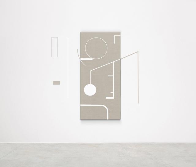 , 'Your Private Sky (Buckminster Fuller),' 2018, Kristin Hjellegjerde Gallery