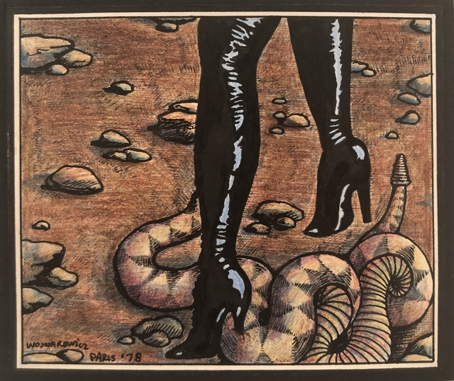 , 'Black Boots with Snake,' 1978, Hal Bromm