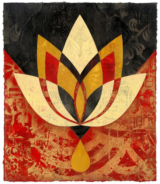 , 'Bleeding Lotus, Version 3 ,' 2018, Galerie Ernst Hilger