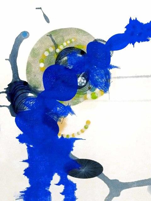 Yvonne Estrada, '#406-12 Blue', 2012, Jason McCoy Gallery