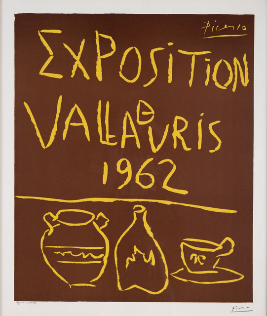 Pablo Picasso, 'Exposition de Vallauris 1962', 1962, Odon Wagner Gallery
