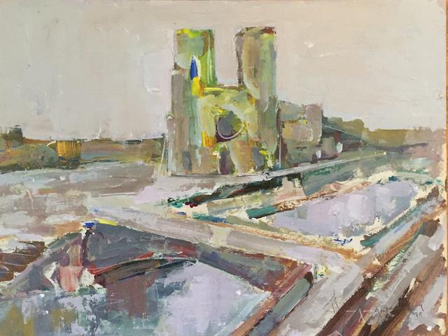 Paul-Henri Bourguignon, 'Notre Dame, Paris', Eisele Fine Art