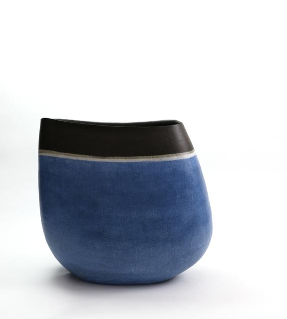 Mitsukuni Misaki, 'Saiyuudeiki (Colored stoneware vessel)', 2017, Ippodo Gallery