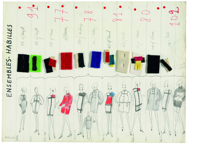 , 'Collection Board,' 1965, Seattle Art Museum