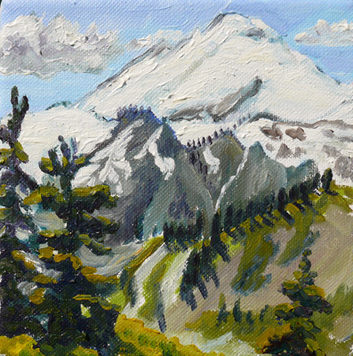 , 'Mount Baker from Artist Point,' ca. 2015, Gallery Pegasus
