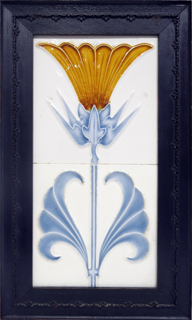 , 'Jugendstil Art Tile,' ca. 1900, Edward Thorp Gallery