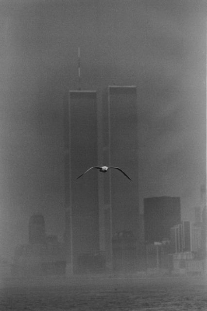 Louis Stettner, 'Twin Towers, Manhattan', 1978, Photography, Gelatin silver print, printed 1990s, GALLERY FIFTY ONE