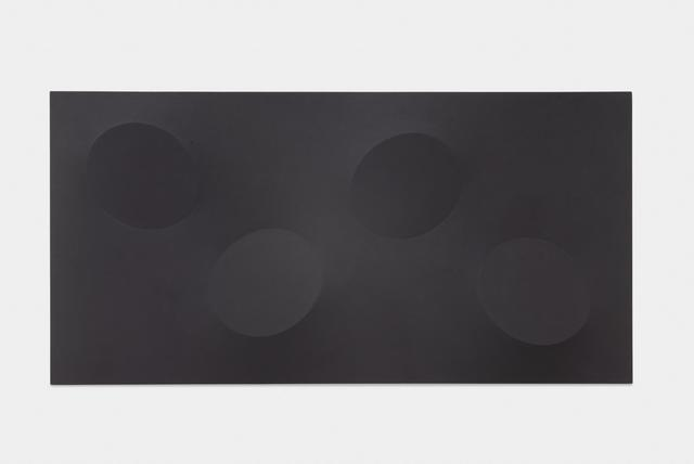 , 'Quattro ovali neri,' 2015, Almine Rech Gallery