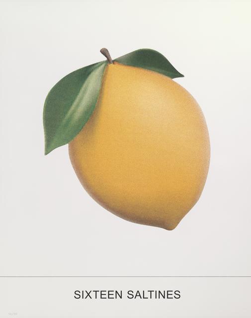 John Baldessari, 'And One Sardine', 2018, Print, 11-color screenprint, Gemini G.E.L. at Joni Moisant Weyl