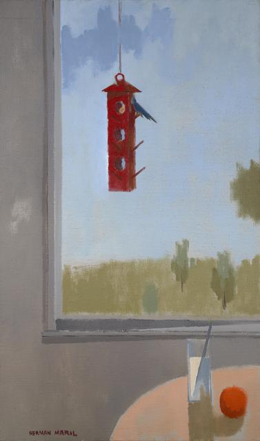 , 'The Red Feeder,' , Debra Force Fine Art