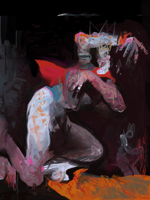 , 'Falling King,' , Helikon Gallery & Studios