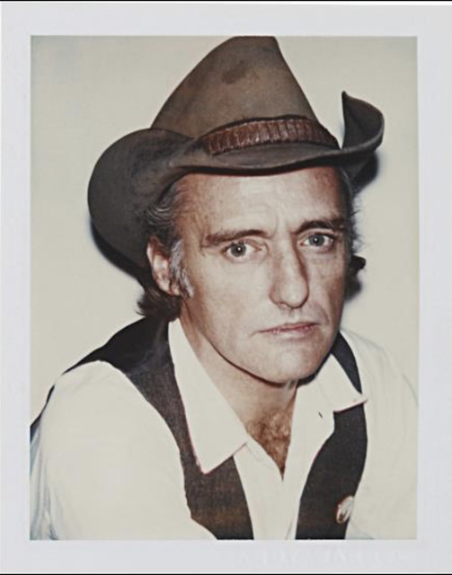Andy Warhol, 'Andy Warhol, Polaroid Portrait of Dennis Hopper', Hedges Projects