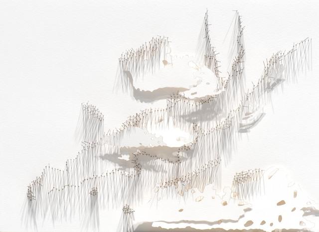 Safaa Erruas, 'Frontière 5', 2017, L'Atelier 21