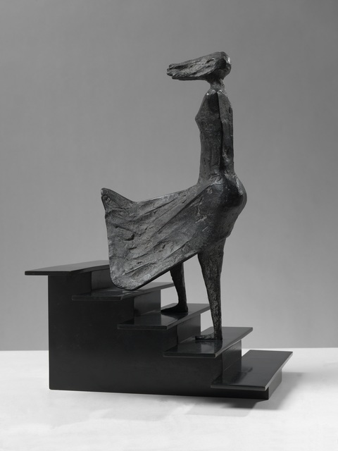 , 'High Wind on Stairs III,' 1994, Osborne Samuel